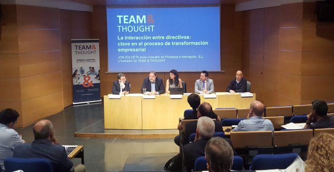 Presentación metodología apoyo a directvos Team & Thought Artium VItoria-Gasteiz