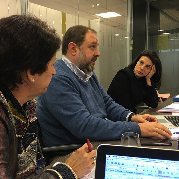 Sesión Team & Thought de aprendizaje experiencial para empresarios