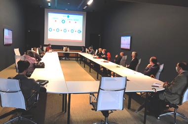 Evento Bizkaired y Team & Thought, en instalaciones IDOM Bilbao